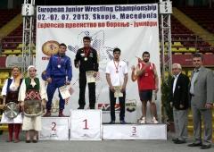 EM Junioren in Skopje